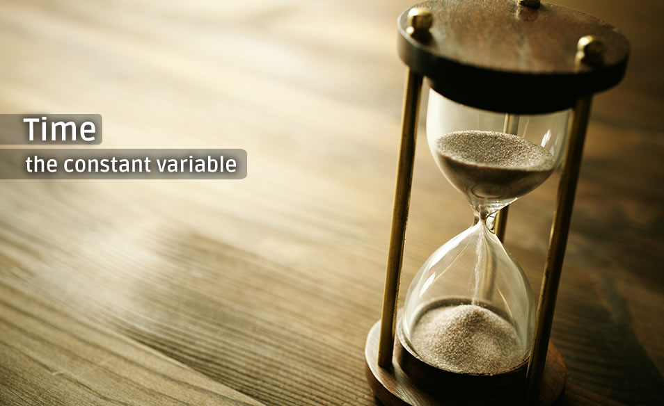 Time: the constant variable
